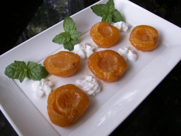 Baked Apricots (France). Photo by JanuaryBride