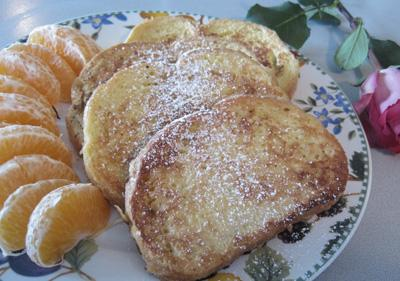 Now! This is French Toast...the Best I Have Ever Made. Photo by Lavender Lynn