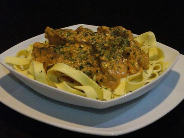 Beef Stroganoff. Photo by The Flying Chef