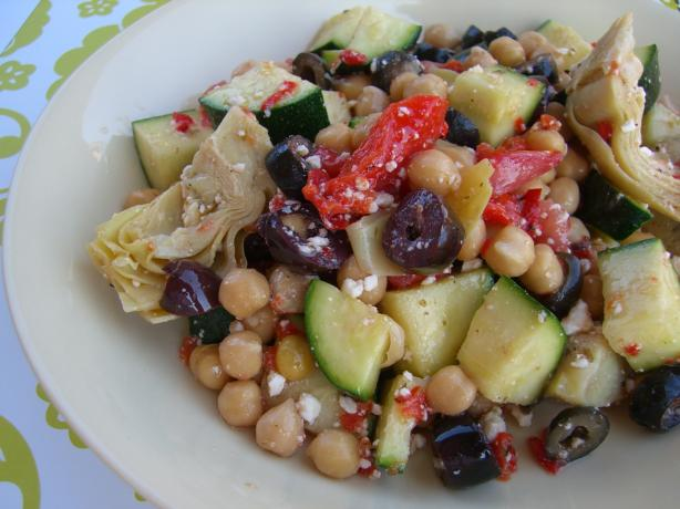 Mediterranean Bean Salad. Photo by Chef*Lee