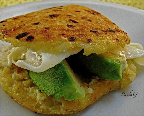 Arepas. Photo by PaulaG