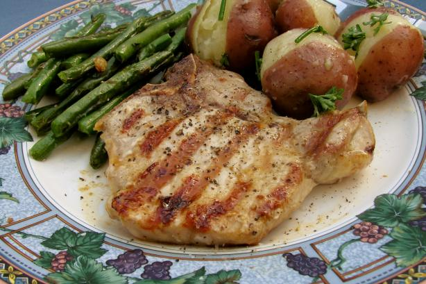 Easy Grilled Pork Chops. Photo by lazyme