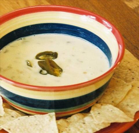 Queso Blanco Mexican White Cheese Dip. Photo by Bobtail