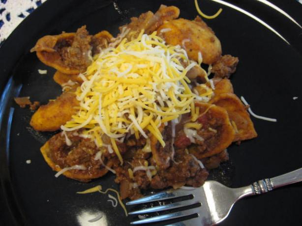 Beef Taco Frito Skillet. Photo by KGCOOK