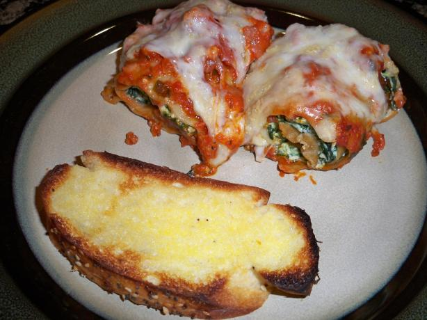 Lady Di's Lasagna Roll-Ups. Photo by Sky Hostess