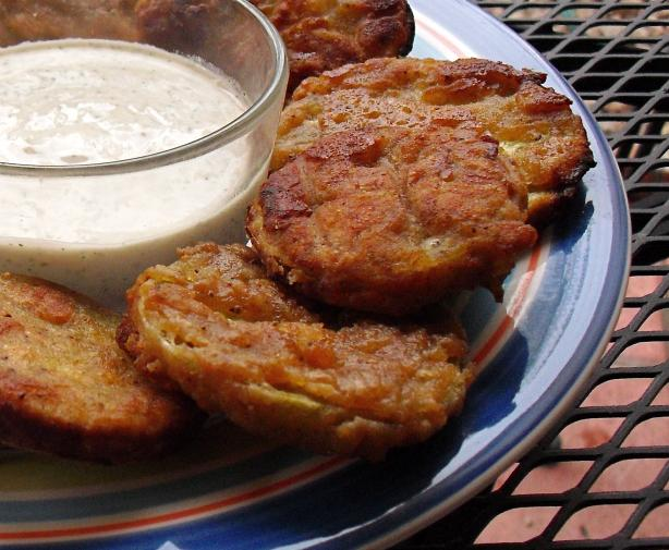 Old Bay Fried Green Tomatoes. Photo by PaulaG