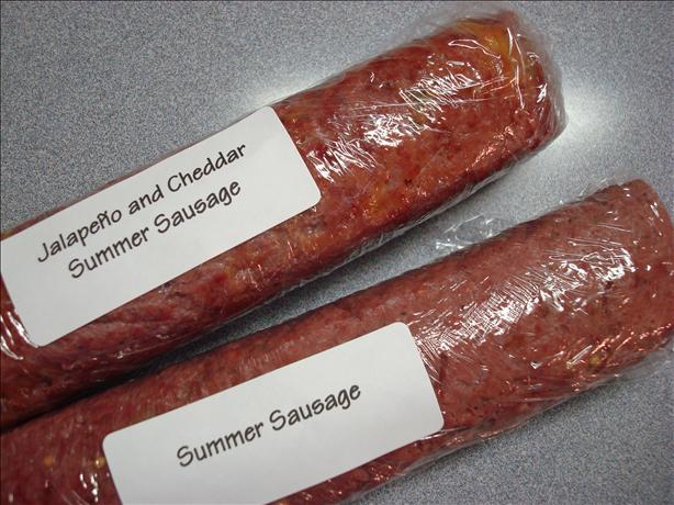 Homemade Summer Sausage Aka Salami. Photo by wwltmom
