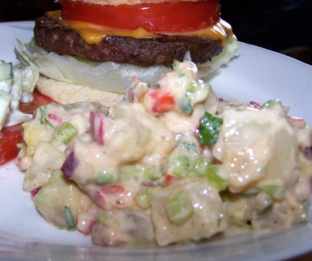 Zingy South-Western Potato Salad. Photo by Rita~