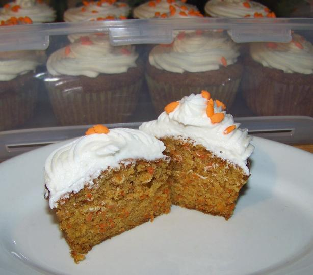 Carrot Cake Cupcakes. Photo by Mimi in Maine