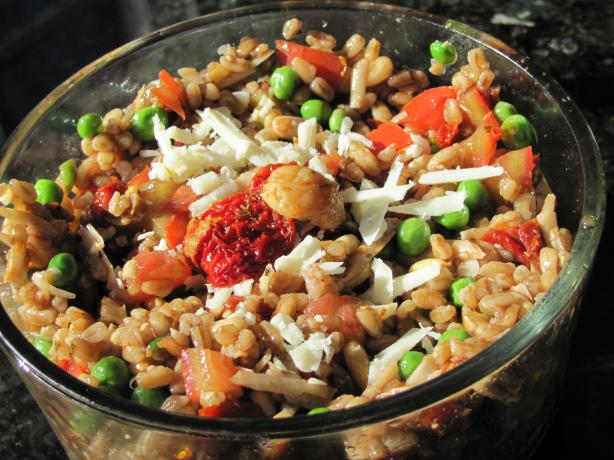 Farro Salad. Photo by JanuaryBride