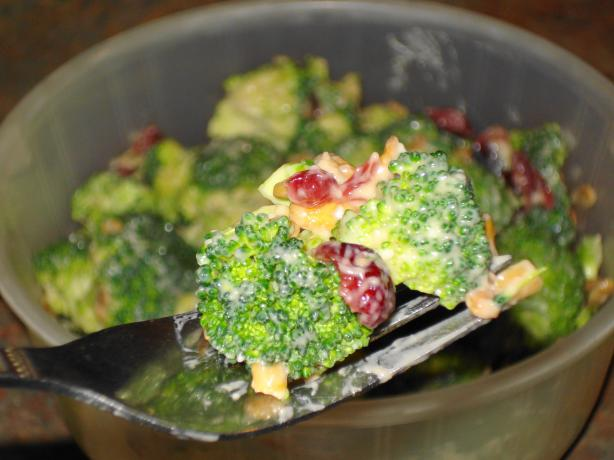 Vegetarian Broccoli Salad. Photo by Wish I Could Cook