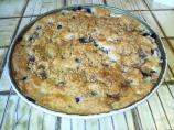 Low Fat Blueberry Coffee Cake