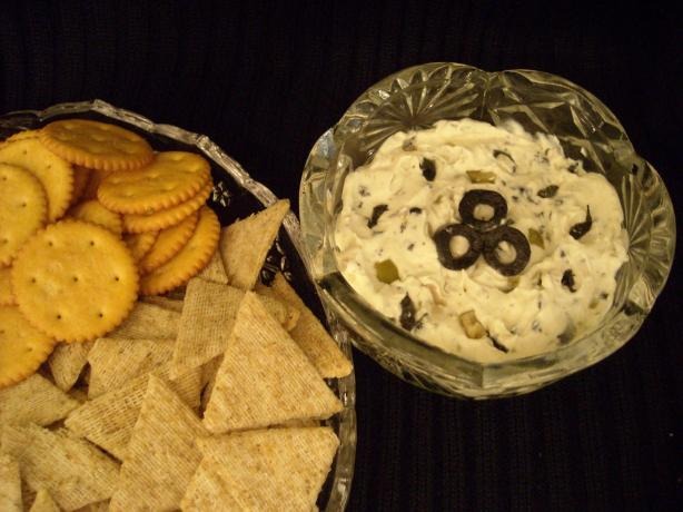I Love Olives and Cream Cheese Spread. Photo by mums the word