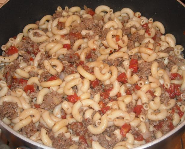 Vintage Hamburger Goulash. Photo by NorthwestGal