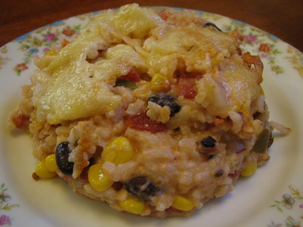 Mexican Vegetarian Casserole. Photo by vigilant20