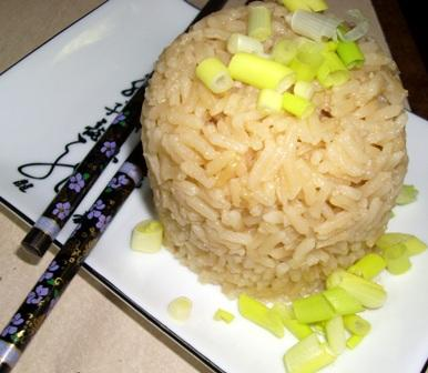 Green Tea Rice. Photo by Karen Elizabeth