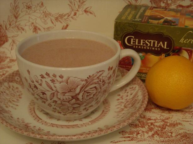 Easy Orange Creamsicle Hot Tea. Photo by mums the word