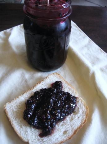 Small Batch Blackberry Jam. Photo by mary winecoff