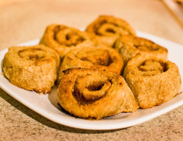Quick Gluten Free Cinnamon Rolls. Photo by *Bellinda*