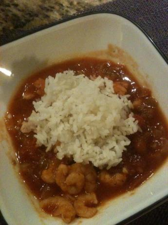 Chele D's Shrimp Creole. Photo by Chele D