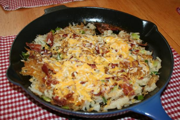 Loaded Hash Browns. Photo by Donna's Days