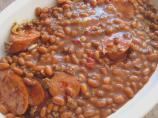 Three Meat Baked Beans