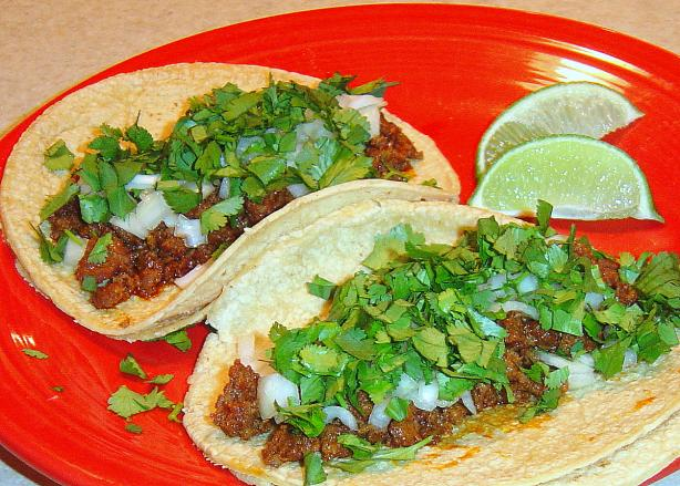 Taqueria Style Tacos. Photo by :(