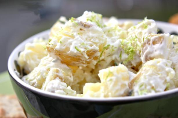 Creamy Lime Potato Salad. Photo by Sarah_Jayne