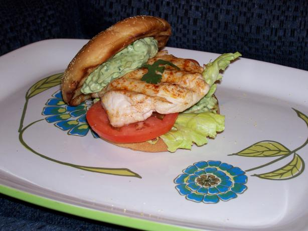 Summer Grilled Chicken Breast Sandwich With Avocado Cilantro May. Photo by Chef Bevier
