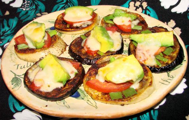 Tex-Mex Eggplant Melts. Photo by Boomette