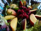 Cote D'azur Fruit and Greens Salad With Honey Lemon Dressing