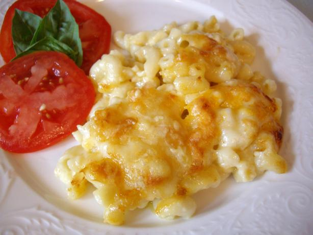 """world's Best"" Macaroni & Cheese. Photo by Sage"