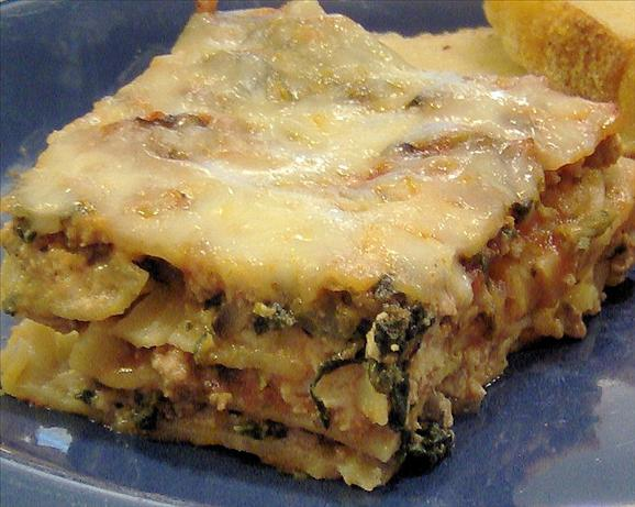 Low Fat Lasagna. Photo by Mama's Kitchen (Hope)