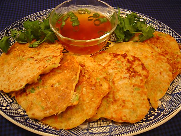 Okonomi Yaki (Veggie Pancakes). Photo by :(