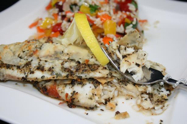 Parmesan Tilapia. Photo by **Tinkerbell**