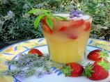 Lavender and Strawberry Fruit Cup from Wolds Way Lavender Farm