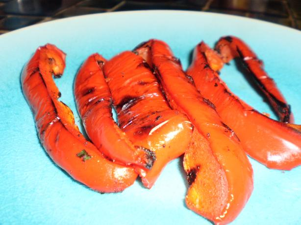 Super Easy: Grilled Bell Peppers. Photo by breezermom