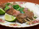 Spicy Mexican Lamb Kebabs