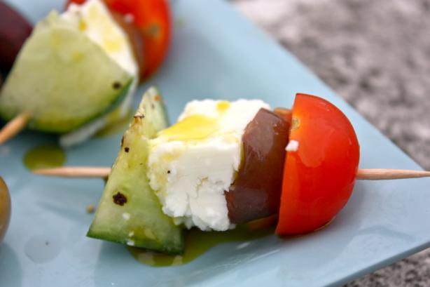 Greek Salad Skewers. Photo by Sarah_Jayne