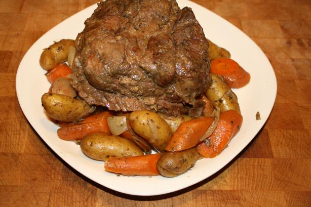 Crock-Pot Beef Roast. Photo by Pink_Diamond