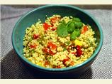 Couscous with Three Peppers