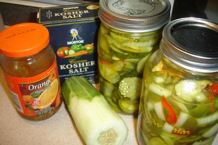 Bakinbaby's Bread and Butter Pickles. Photo by BakinBaby