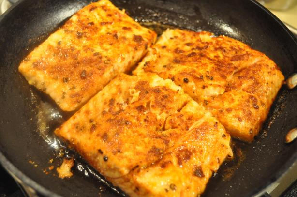 Spicy Pan-Seared Salmon. Photo by I&#39;mPat
