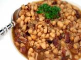 Navy Bean and Bacon Soup