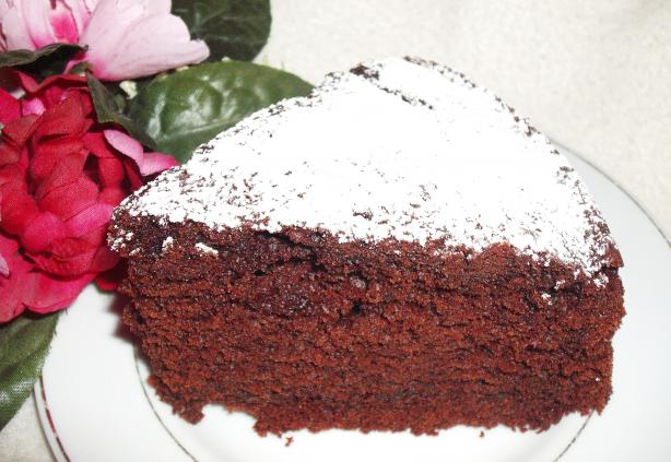 My Amazingly Soft & Moist Chocolate Sponge Cake. Photo by Um Safia