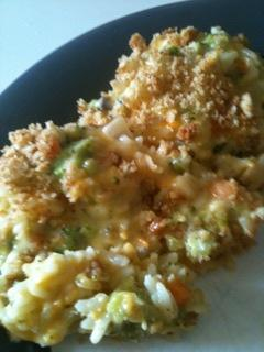 Broccoli Cheese Rice Casserole. Photo by Shawn C