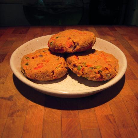 Stacey E's Yummy Veggie Burgers!. Photo by ramartin42