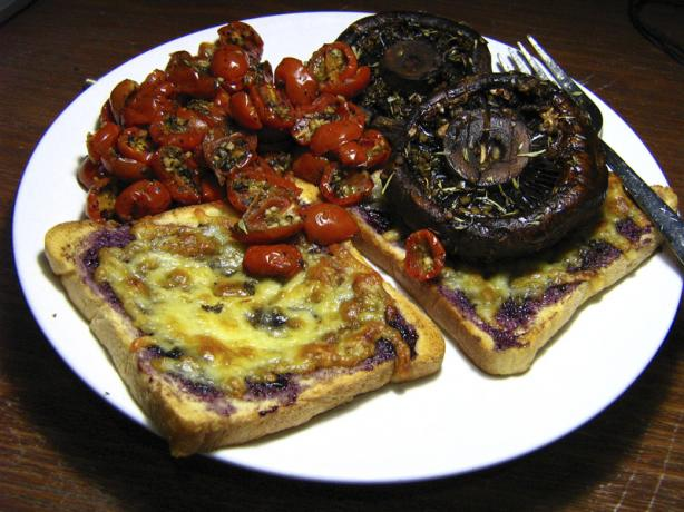 Grilled Portabella Mushrooms. Photo by V&#39;nut-Beyond Redemption