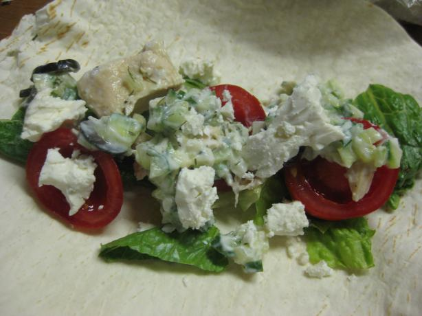 Healthy Greek Style Chicken Tacos. Photo by Charlotte J