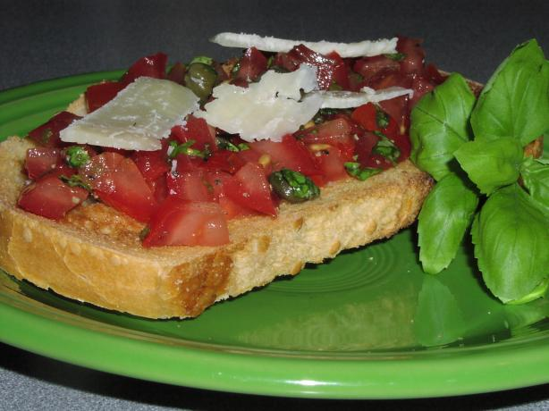 Tomato and Basil Bruschetta (Julie and Julia Style). Photo by TeresaS